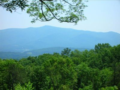 Photo for Private mountain Cabin with views from TN to NC!  HOT TUB, SECLUDED AND WIFI
