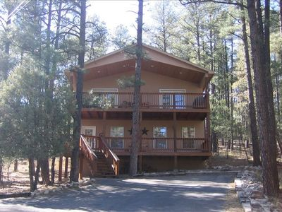 Photo for Cozy Pines Cabin - Your Home Away from Home
