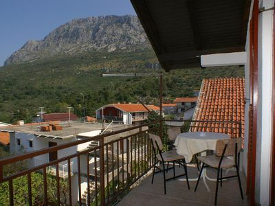 Photo for Studio flat with terrace and sea view Podaca, Makarska (AS-516-c)