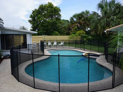 Photo for Endless Tropical Summer Nights & Fun in the Sun w/Private Pool 1 mile from Beach