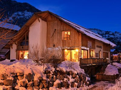 Photo for Ecological house 5 minutes from Briancon, 15 people, 2 ears, comfort, SPA
