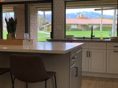 Photo for Gorgeous newly renovated palm desert home on golf course