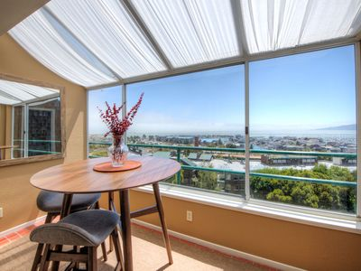 Photo for NEW LISTING Amazing SF Skyline Bay View  31+ DAY STAYS.  Lap pool & Gym included