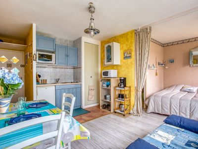 Photo for Apartment Les Marines in Villers sur mer - 2 persons, 1 bedrooms