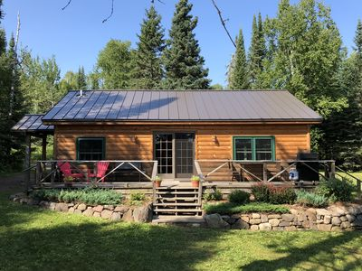 Photo for Beautiful cabin (or two if you wish) on pristine Pike Lake close to Grand Marais