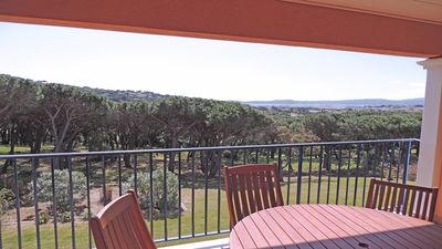 Photo for Apartment T4 - 6 people - Sea view - Air conditioning - WiFi - Sainte Maxime