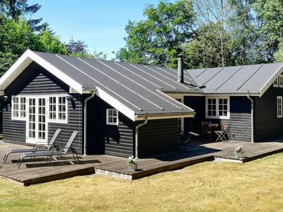 Photo for Attractive Holiday Home in Glesborg Jutland with Terrace