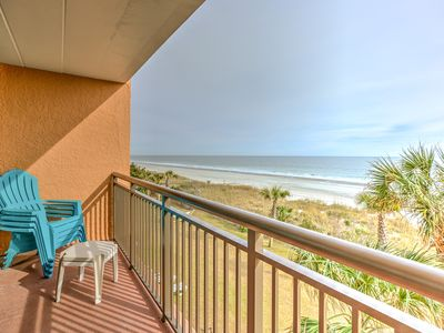 Photo for Oceanfront Sunsuite with fabulous views!