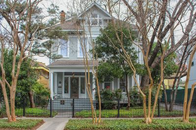 Victorian mansion originally built in 1907. We love this neighborhood!
