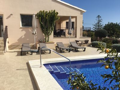 Photo for Stylish new holiday home near the sea in Benissa La Fustera / Costa Blanca