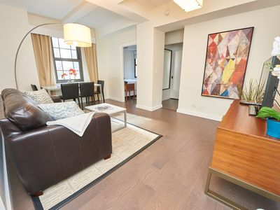 Photo for Large 2BED UN Location Full Kitchen Free Breakfast, Midtown East, Times Square