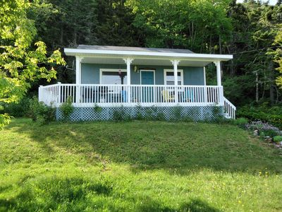 Photo for Charming Cottage w/ Privacy, Exhilarating Ocean View