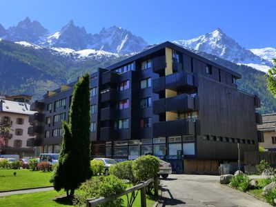 Photo for Apartment in the center of Chamonix with Lift, Internet, Balcony (113445)
