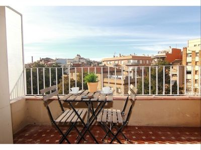 Photo for Sagrera Quiet 4-2 apartment in La Sagrera with WiFi, air conditioning, balcony & lift.