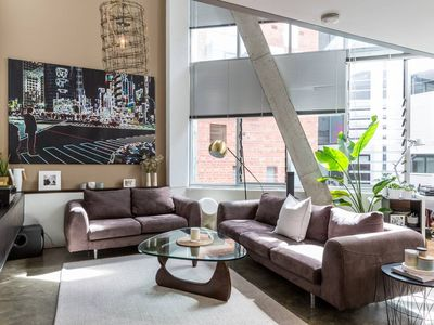 Photo for NYC Style Loft Apartment - Luxury 2 Bedroom with Carpark!