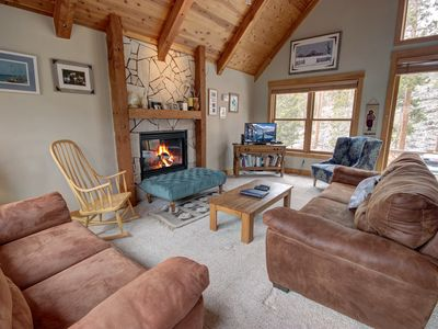 Photo for Cabin in the Pines 11- Private laundry and grill! Great deck with wooded views, free shuttle to the slopes by Summitcove Vacation Lodging