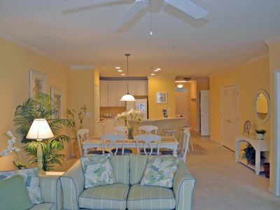 Photo for Dream Luxury 3 Bedroom Condo with WiFi In Gated Community On Bayside With Indoor/Outdoor Pools, Private Beaches, Restaurant, And More Just Ten Minutes From Beach!