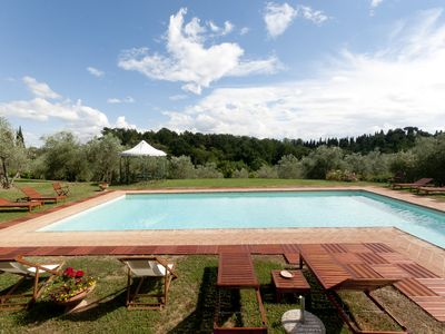 Photo for Charming Apartment In Traditional Country House In Chianti