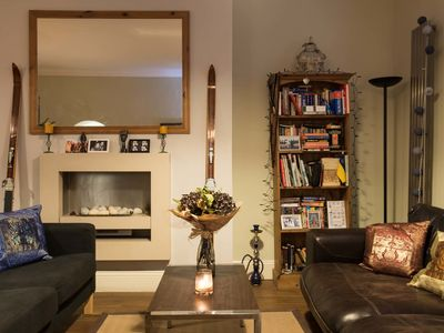 Photo for Beautiful apartment in a classic West London townhouse from Hyde Park (Veeve)