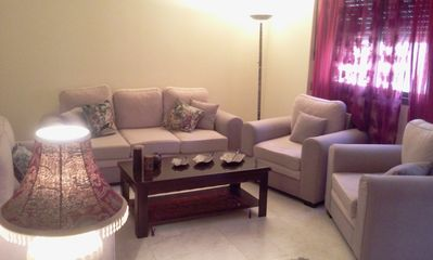 Photo for Amazing NEW Fully Furnished 3 BR AC apartment in Sanayeh - near Hamra