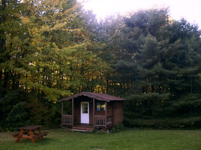 Photo for Family Friendly Cabin - Sleeps 4, Hiking, Mountain Biking, Beautiful & Private