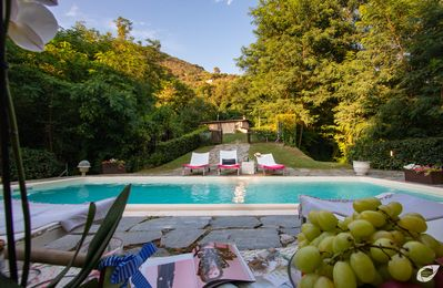 Photo for Il Castagno Country House Versilia, villa with private pool and air conditioning