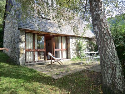 Photo for 2BR Cottage Vacation Rental in Aucun, Occitanie