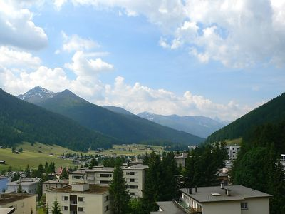 Photo for Apartment 890 m from the center of Davos with Lift, Parking, Internet, Balcony (54033)