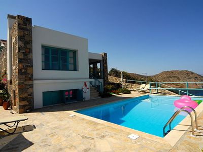 Photo for (w) Seaview Crete Villa |Villa Kalippo|4 Bedrooms|Private Pool|Sitia