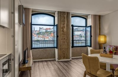 Photo for 296 Heritage Apartments - One-Bedroom Apartment 20 Douro River View