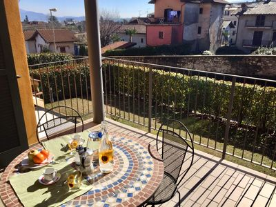 Photo for Isabella apartment in Baveno near the centre with terrace