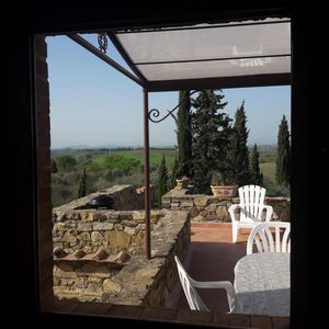Photo for Panoramic villa on the hills between Florence and Siena - Unit 3