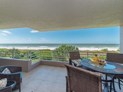 Photo for New! Spacious Beachfront w/Amazing Views, Resort Amenities, Beach Gear ~Walk to Shops & Restaurants