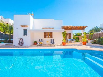 Photo for Villa Llorer: Large Private Pool, Walk to Beach, A/C, WiFi, Car Not Required