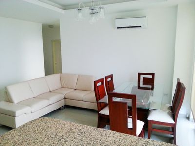 Photo for EXCLUSIVE 3 BEDROOM APARTMENT, SEA VIEW / BEACH ACCESS