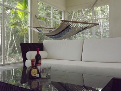Photo for Peaceful Jungle Getaway-full house, gated community, excellent wifi, TV-Internet