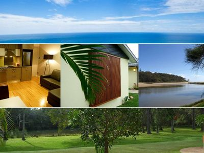 Photo for Golden Cane Couples Retreat - Waterfront privacy in Woolgoolga, Coffs Harbour