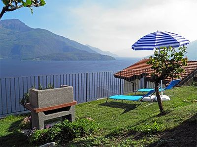 Photo for Casa Alex Secondo holiday apartment with magnificent panoramic view of the lake