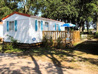 Photo for Camping Lou Payou ** - Mobile home Super Mercure Family 6 People
