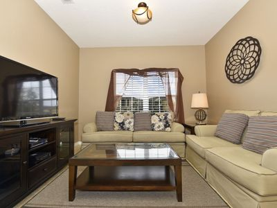 Photo for Luxury on a budget - Oakwater Resort - Feature Packed Relaxing 2 Beds 2 Baths Townhome - 2 Miles To Disney