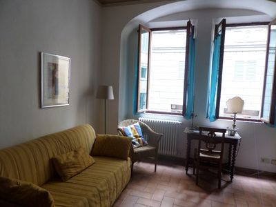 Photo for Heart of Siena apartment, one minute from Piazza del Campo, in the historic center.