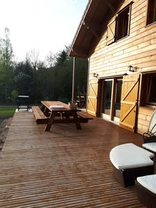 Photo for Quiet cottage, private pond for fishing or swimming 4km from shops