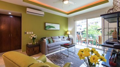 Photo for V399 Beautiful Condo with 1 BR/2 Baths in the Heart of Romantic Zone