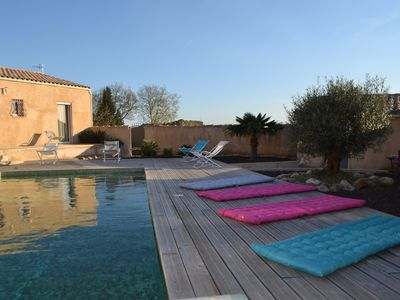 Photo for house with swimming pool, hammam and sauna. Cathar -Canal du Midi