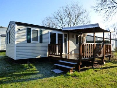 Photo for Camping Pen Palud *** - Mobil O'PHEA 3 Rooms 4 People with terrace