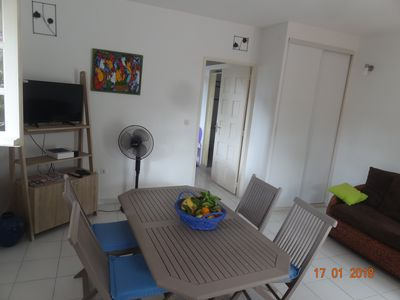 Photo for BEAUTIFUL APARTMENT IN THE HEART OF LAMENTIN TERRACE & GARDEN