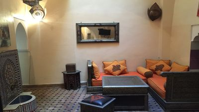 Photo for Riad for rent of 3 bedrooms in the medina Marrakech