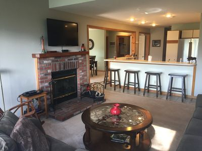 Photo for Stunning Mount Snow Views from Townhouse with Style at Timber Creek