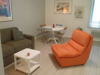 Photo for Charming T2 Hyper center Annecy 2 beds - 4 travelers + closed garage