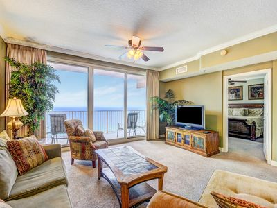 Photo for Shores of Panama 2112-1BR+Bnk☀Oct 18 to 20 $445 Total! AMAZING Gulf Views☀